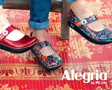 Alegria shoes. Shoes online for women