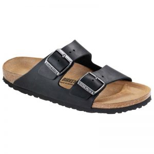 Birkenstock Arizona - Black Oiled Leather